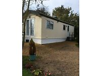 Chalet /holiday home, 2 bedroom, 28 ft, FCH, part furnished, good condition, no pets, Mansfield area