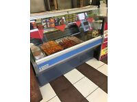 Shop for sale kebab pizza fish ad chips