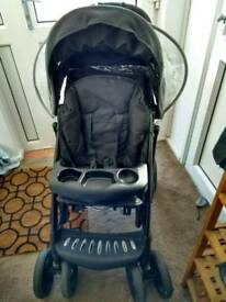 Mothercare Trenton deluxe pushchair with rain cover