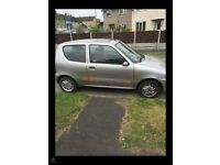 Fiat seicento for sale! Low mileage, Ideal first car!