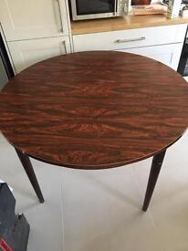 Vintage dining table 116cm extendable to 156cm