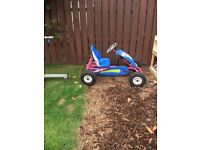 Roxy berg go kart in good condition , adjustable seat, tires can be pumped up for extra air.