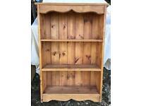 Pine freestanding shelf unit
