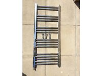 Chrome towel rail 500x1200 £20