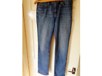 "Levi's 525 The Original Lean Mens Straight Leg Jeans - Size 30"" / 31"""