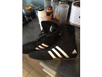 New addidas boxing boots