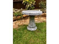 Garden Bird Table Stand Ornament.