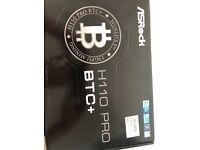 ASROCK H110 PRO BTC Motherboard