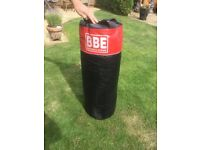 BBe Gym grade punch bag - used