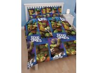 Teenage Mutant Ninja Turtles Dudes Double Duvet Set