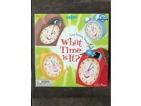 What Time is it? Game. Excellent condition