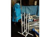 1200+ items shop fittings.bars.hooks.display hangers etc