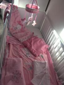 Pollyanna cot bed 5 piece set