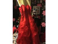 Red wedding/prom dress