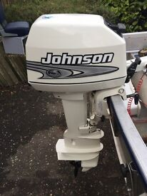 Johnson 8hp L/S 2 stroke outboard