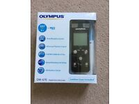 OLYMPUS DM-670 Digital voice recorder - black