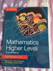 IB diploma mathematics HL exam preparation guide