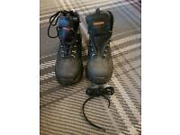 Trojan safety work boots size 12