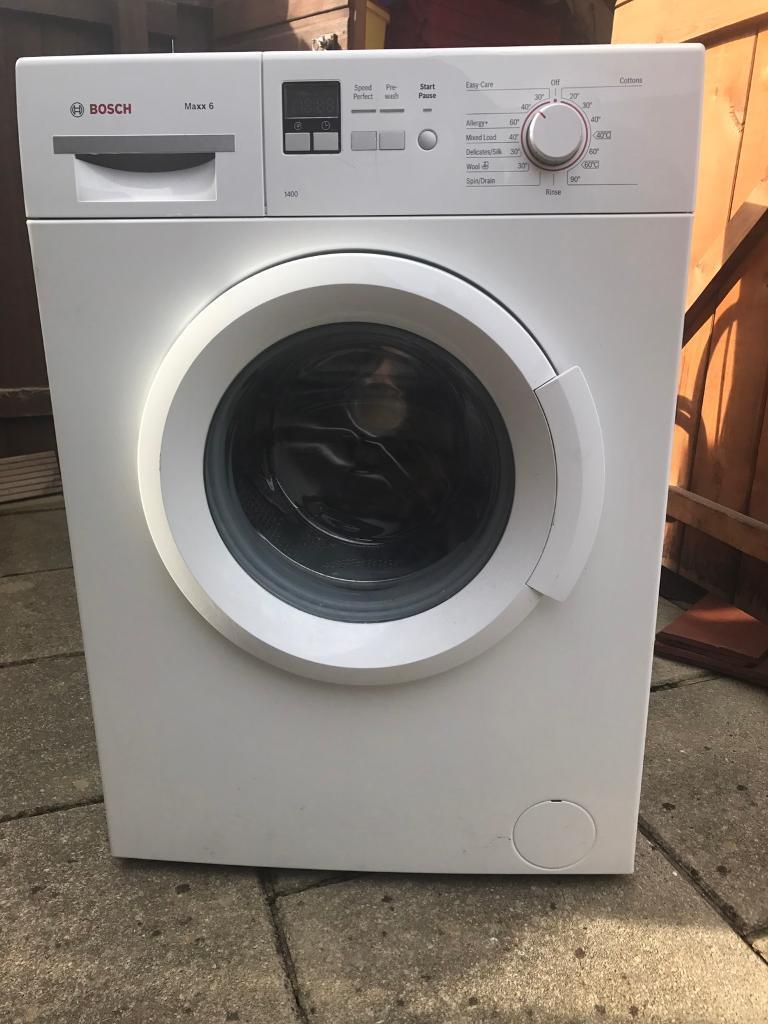 Bosch washer machine