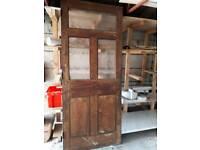 Used exterior door