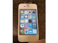 Iphone 4s white locked to vodafone