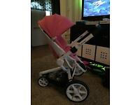 Quinny Moodd Pink. Pram and Buggy