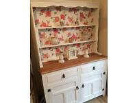Shabby chic/cottage solid wood old charm dresser