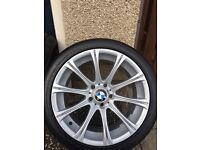 BMW M5 18inch staggered alloys
