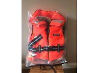 Nautic child life jacket