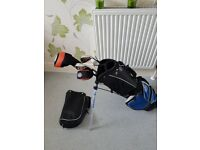 Golf set junior half set £15