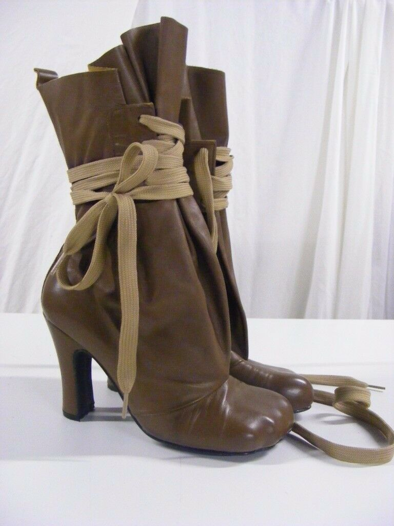 Vivienne Westwood Boots, bag boots with animal toe size 4