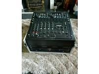 CITRONIC CDM104 MK5 DJ MIXER with a case