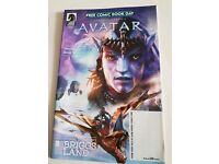 Avatar free comic book day 2017
