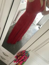 Red prom / bridesmaid / formal dress size 12