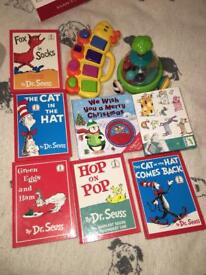 Toys and books bundle