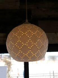 Moroccan Ceramic lights