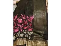 Indian wedding saree used