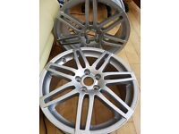 "Genuine original Audi 18"" Alloys newly refurbed absolutely as new mint condition unused."