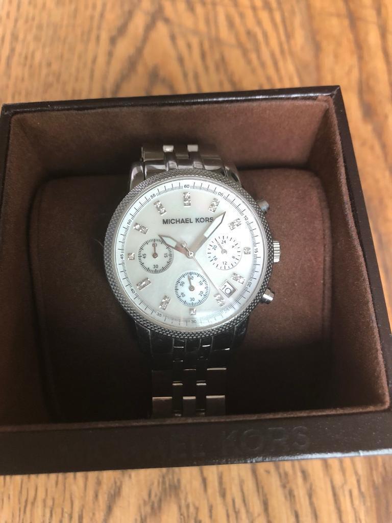 d750368d9039 Michael Kors Ladies Ritz Chronograph Watch MK5020 USED