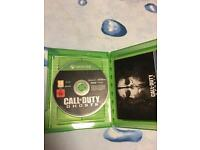 Call of duty ghosts xbox one game
