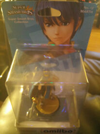 Amiibo, super smash bros. collection, No.12 Marth. Still in box, as new.