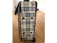 Burberry suitcase