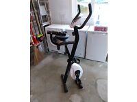 Folding Excercise Comfort Plus Bike