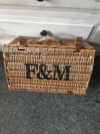 fortnum & mason picnic baskets
