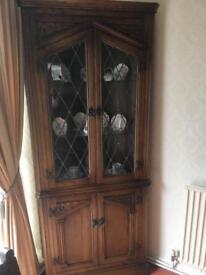 Old Charm corner cabinet for sale