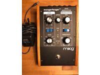 Moog Moogerfooger MF102 Ring Modulator Pedal with Moog Power Supply