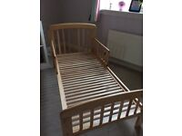 John Lewis Anna Junior and Toddler Bed - Excellent Condition