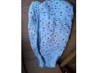 baby boy dino dinosaur sleeping bag grobag age 3 months - 6 months