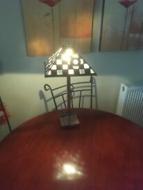 Lamp Tiffany Lamp Chrome base