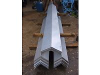 1 8 FT LENGTH OF GALVANISED RIDGE OR BARGE CAPPING